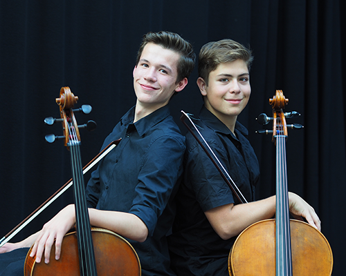 WifürKultur Künstler Cello Duo